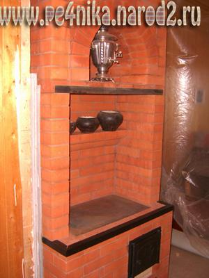 Печь отопительная с варочной плитой своими руками